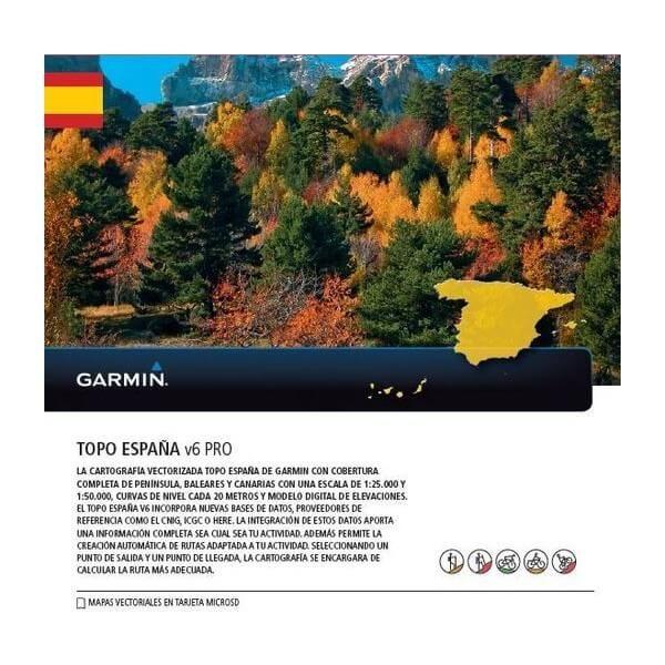 Garmin Topo Spanien v6 Pro microSD - 010-12036-01