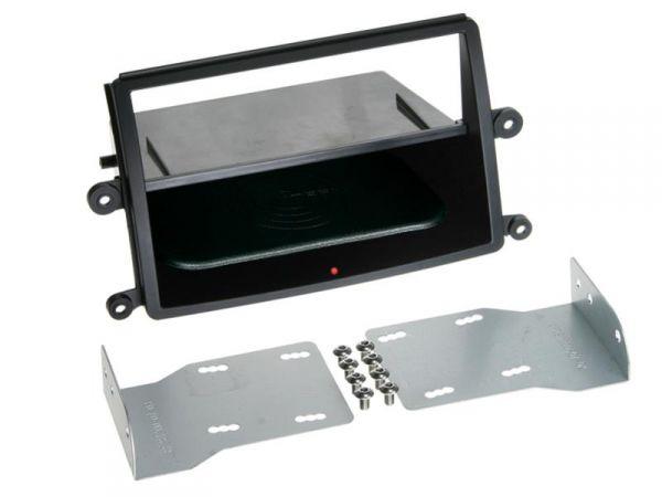 2-DIN RB Inbay® Mitsubishi L200 schwarz ab 2006 - Qi-Standard