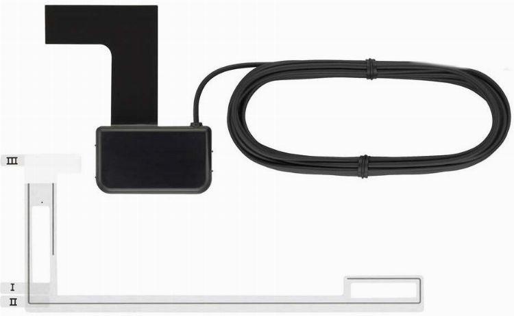 pioneer dab antenne ca an scheibenklebeantenne. Black Bedroom Furniture Sets. Home Design Ideas