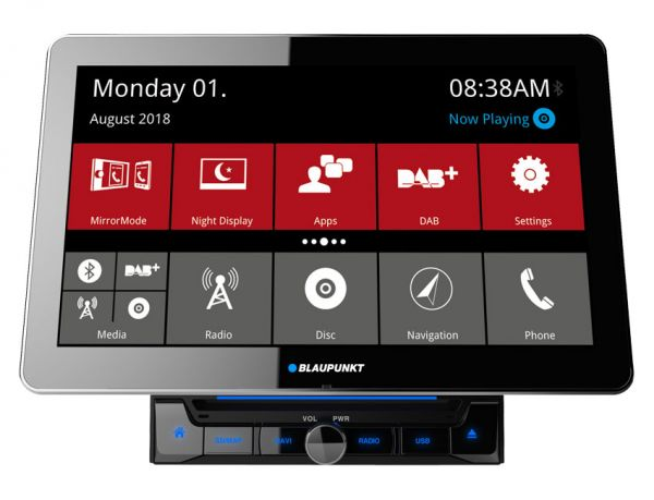 Blaupunkt Rome 990 DAB - Autoradio mit Wi-Fi, Bluetooth, DAB+