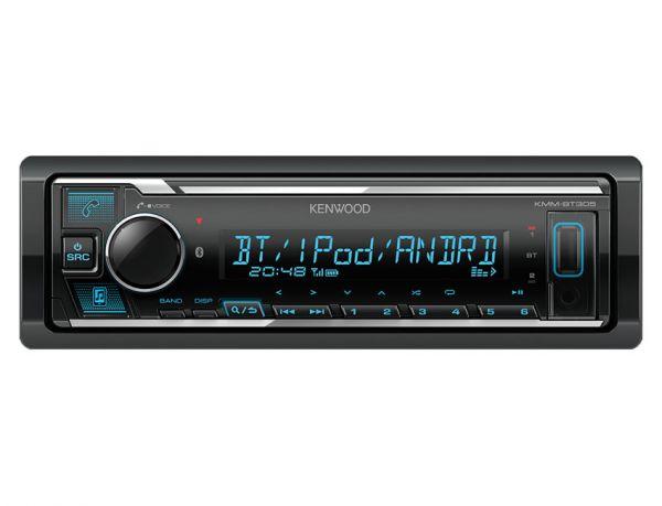 Kenwood KMM-BT305 - Autoradio ohne Laufwerk mit Bluetooth, Variocolor