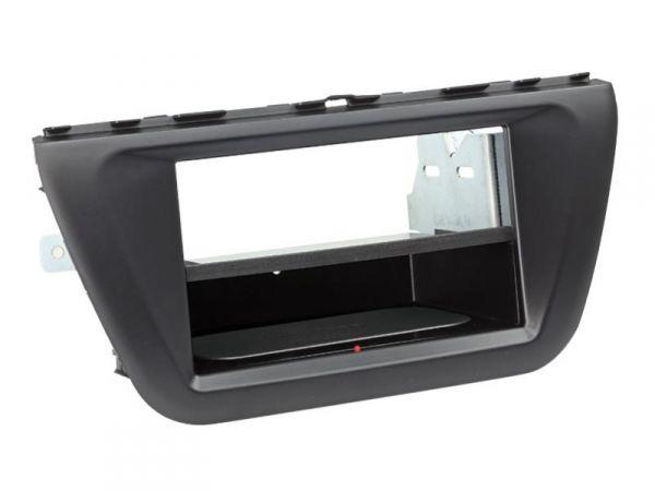 2-DIN RB Inbay® Suzuki SX4 S-Cross schwarz ab 2013 - Qi-Standard