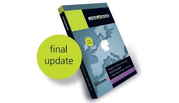 CD-ROM Deutschland VDO C-IQ Exit Supercode 2014/2015 - TomTom - Final Update