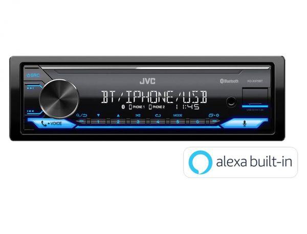 JVC KD-X372BT - Autoradio mit Amazon Alexa, Bluetooth, USB, JVC Remote App