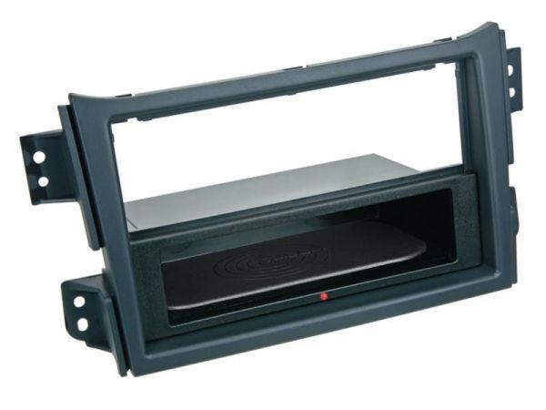 2-DIN RB Inbay® Suzuki Splash / Opel Agila schwarz ab 2008 - Qi-Standard