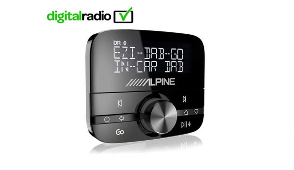 Alpine DAB+ Tuner für digital Radio - EZi-DAB-GO