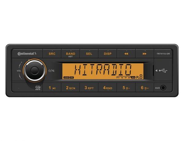 Continental TR7411U-OR - 12 Volt Autoradio - laufwerklos