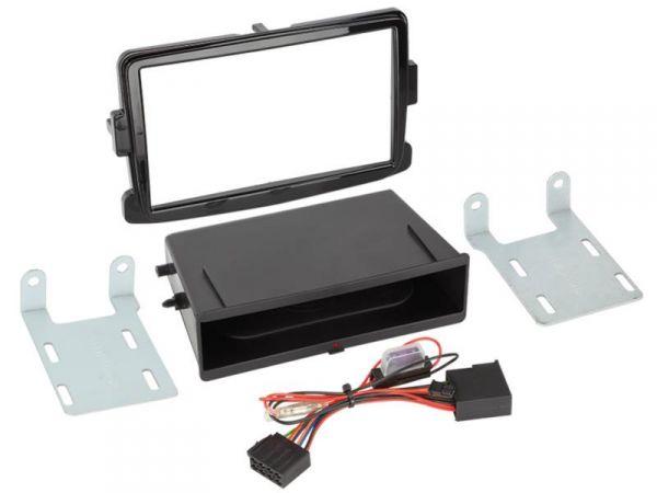 2-DIN RB Inbay® Dacia / Opel / Renault Klavierlack ab 2012 - Qi-Standard