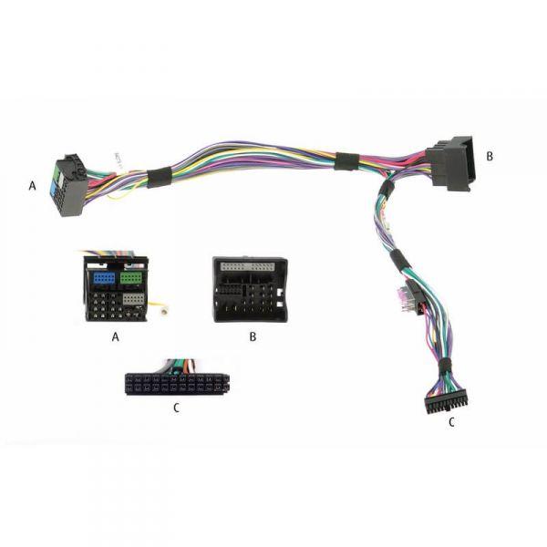 Audio2Car Adapter Audi, Seat, Skoda, VW - voll bepinnt - Kram - 84076