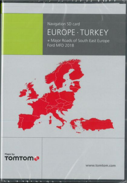 SD-Karte Europa + Türkei Ford MFD 2018 - TomTom - i1031033 (B-Ware)