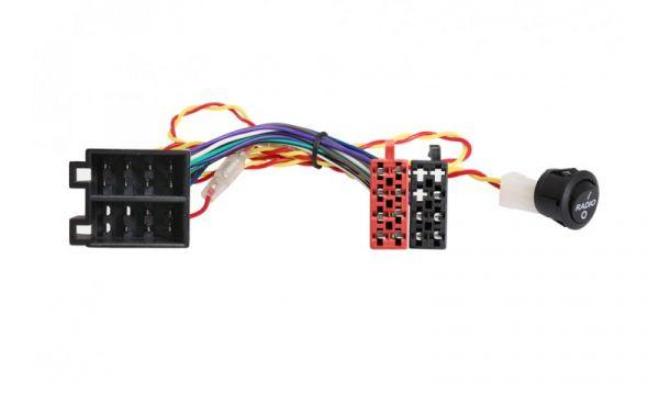 Adapterkabel ISO - ISO mit Schalter für Wohnmobile/ Camper - 004.020-0