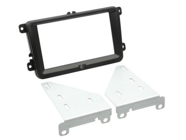 2-DIN Radioblende Seat/ Skoda/ VW - ACV - 381320-30-1 - schwarz