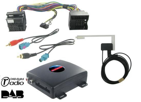 DAB+ Interface für Volkswagen mit OEM Radioteil (Quadlock)