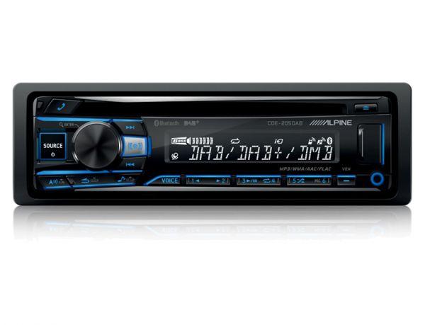Alpine CDE-205DAB - Autoradio mit DAB+ und CD-Laufwerk