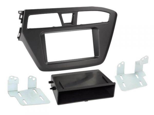 2-DIN Radioblende für Hyundai i20 ab 2014 mit Ablagefach - ACV - 281143-27-1