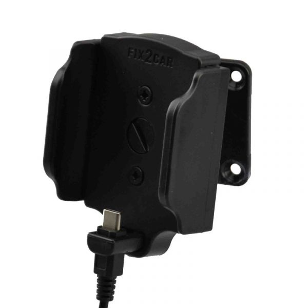 Fix2Car verstellbarer Aktivhalter (58-95mm) mit USB-C Stecker 2,1A - 64420