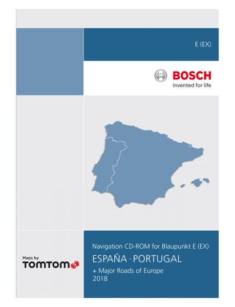 CD-ROM Spanien/ Portugal TP E 2018 - TomTom - i1031124