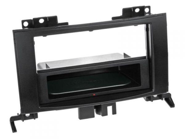 2-DIN RB Inbay® gummiert Mercedes Sprinter schwarz ab 2006 - Qi-Standard