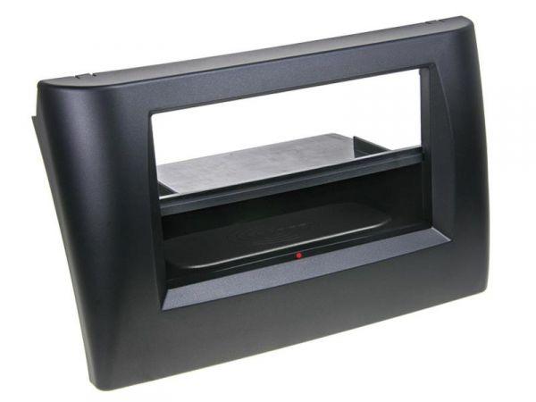 2-DIN RB Inbay® Fiat Stilo schwarz - Qi-Standard
