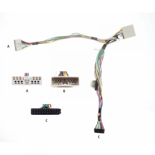 Audio2Car Adapter Honda, Mitsubishi - Kram - 84360