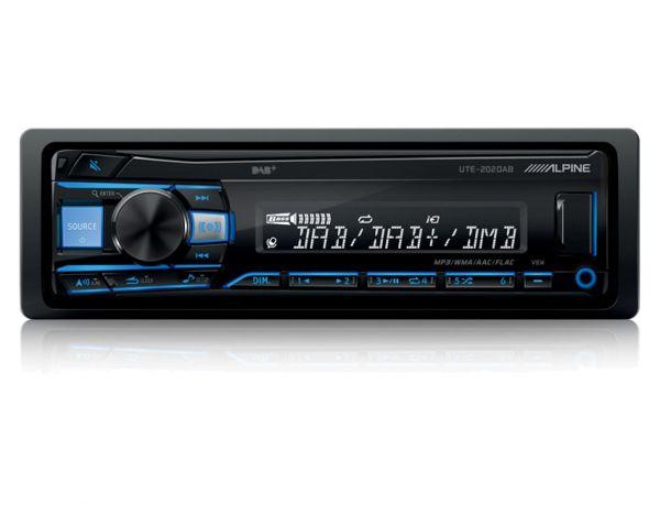 Alpine UTE-202DAB - Autoradio mit DAB+ (ohne CD-Laufwerk)