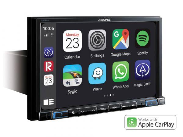 Alpine X803D-U - 8 Zoll Navigationnsysteml mit DAB+, Apple CarPlay, Android-Auto