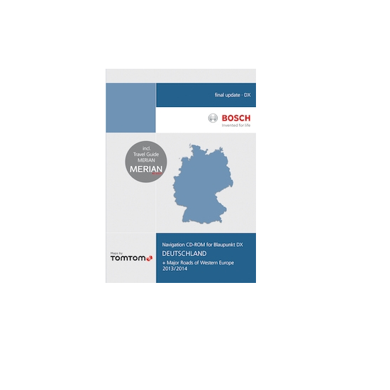 CD-ROM Deutschland TP DX 2013/2014 Final Update - TomTom - 1030728