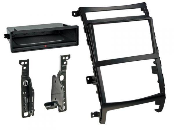 2-DIN RB Inbay® Hyundai ix55 schwarz ab 2009 - Qi-Standard
