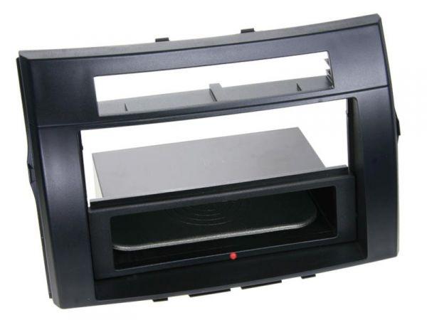 2-DIN RB Inbay® Toyota Corolla Verso schwarz bis 2009 - Qi-Standard