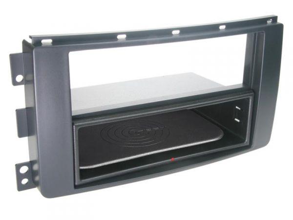 2-DIN RB Inbay® Smart ForTwo /ForFour schwarz - Qi-Standard