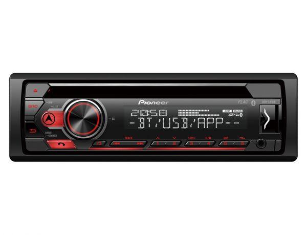 Pioneer DEH-S410BT - Autoradio mit Bluetooth, USB, iPod-Steuerung