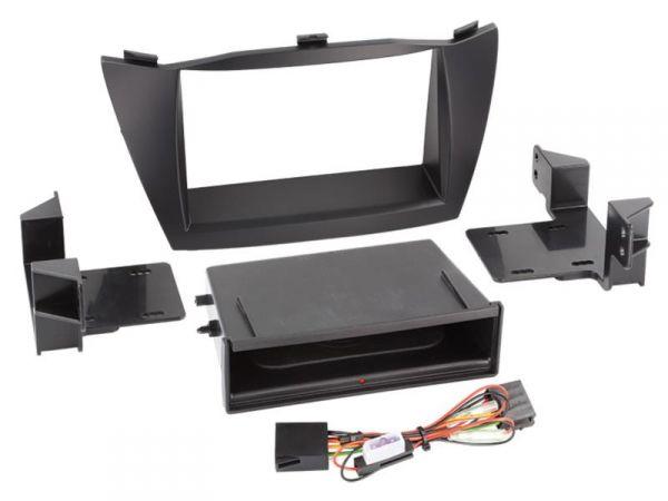 2-DIN RB Inbay® Hyundai ix35 schwarz ab 2010 - Qi-Standard