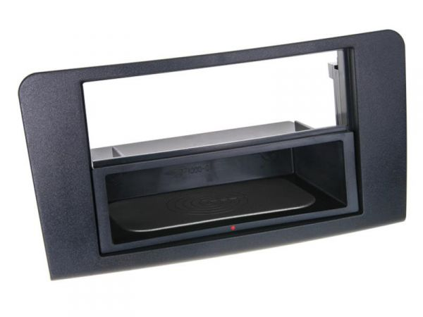 2-DIN RB Inbay® Mercedes M-Klasse W164 schwarz ab 2005 - Qi-Standard