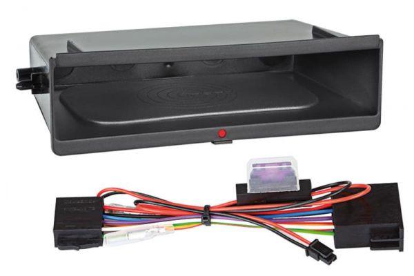 Ablagefach Inbay® für Doppel DIN Blenden ohne Metallrahmen - Qi-Standard