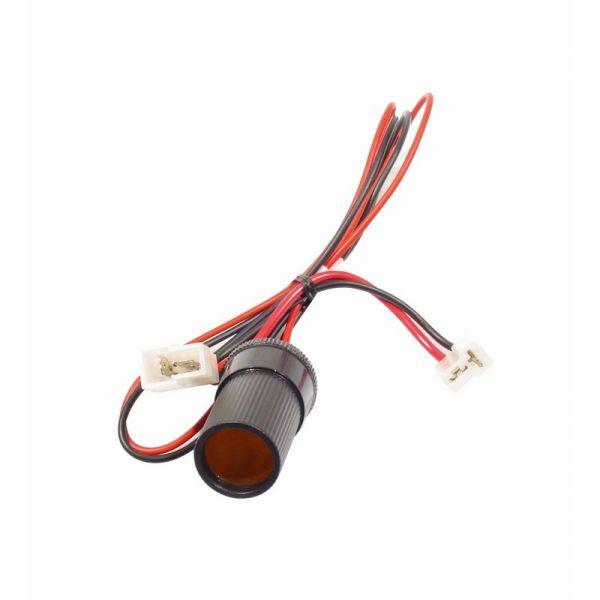 KFZ- DIN Norm Steckdose groß, Y-Anschluss, für Auto/Boot, Belastbarkeit: 12V/24V