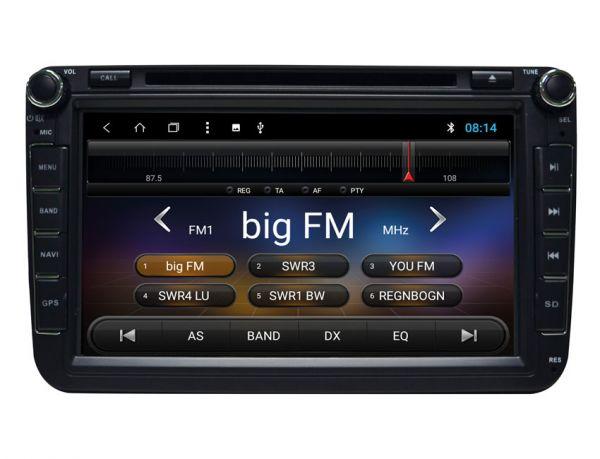 ESX Naviceiver Android 8 Zoll mit für Volkswagen, SEAT, SKODA - VN815-VO-U1
