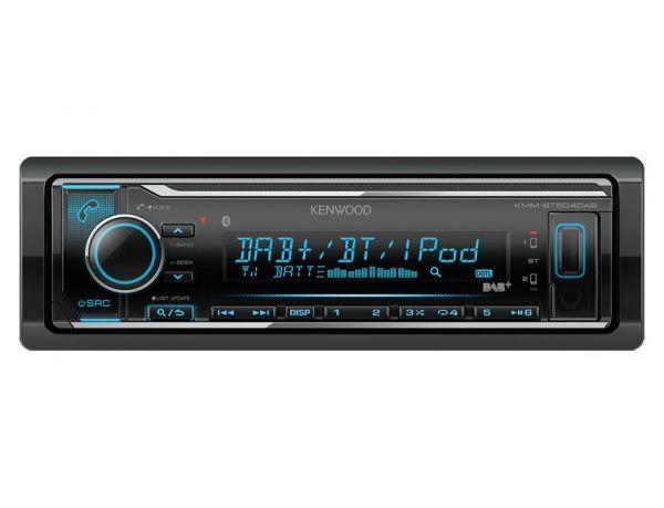 Kenwood KMM-BT504DAB - Autoradio ohne Laufwerk mit DAB+, Bluetooth und USB