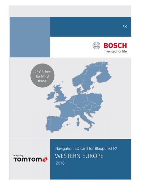 SD-Karte West-Europa 32 GB TP FX 2018 - TomTom - i1031132