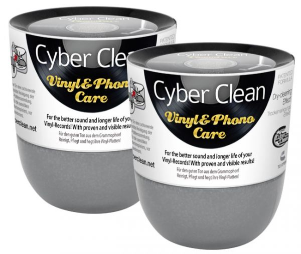 Cyber Clean Vinyl & Phono Care New Cup 2x 160 gr.
