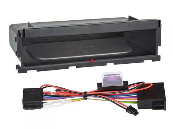 Ablagefach Inbay® für 2-teilige 2-DIN Radioblenden - Qi-Standard