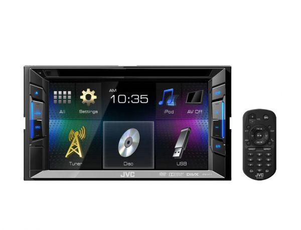 JVC Autoradio mit 6.2-Zoll Touchdisplay DVD/CD/USB - KW-V11