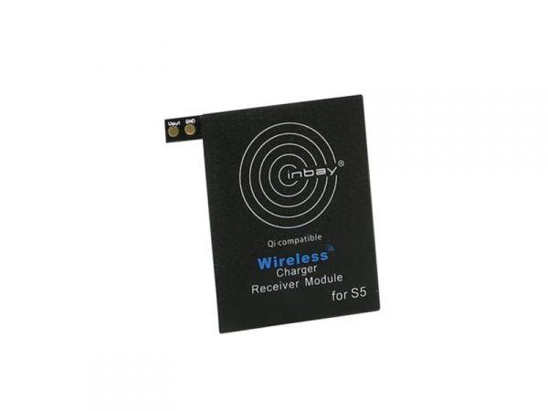 Inbay® Induktiver Qi-Ladeempfänger Samsung Galaxy S5 - Qi-Standard