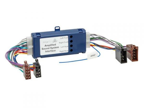 4-Kanal-Aktivsystemadapter für Fahrzeuge mit OEM-Endstufen
