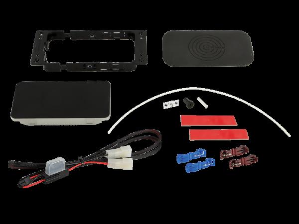 Inbay® Nachrüst-Kit - 3 Spulen mit Pad 10W + LWL-Kit - Qi-Standard