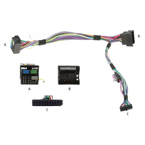Audio2Car Adapter Audi, Seat, Skoda, VW - Kram - 84073