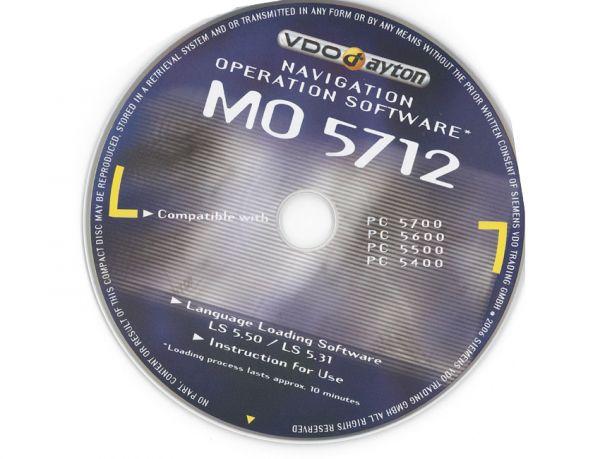 Betriebssoftware VDOdayton MO5712 für PC 5700/ 5600/ 5500/ 5400