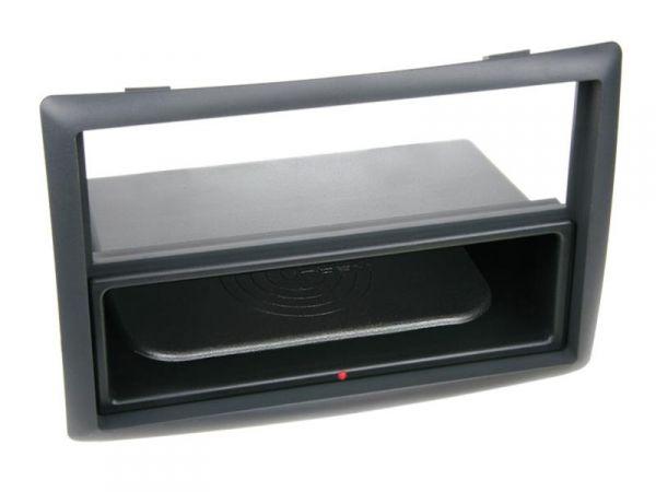 2-DIN RB Inbay® Renault Megane II schwarz ab 2003 - Qi-Standard