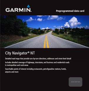 City Navigator NT Datenkarte Spanien/Portugal - Garmin - 010-10691-02