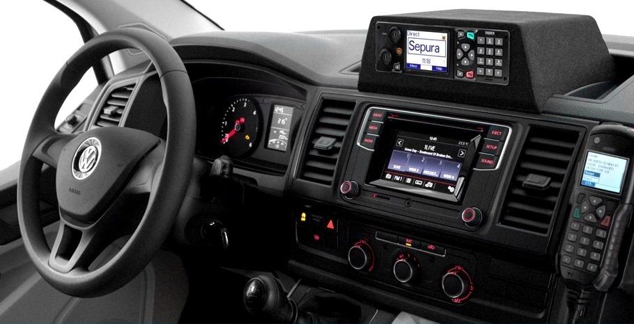 Brodit ProClip 855204 Montagekonsole für VW Volkswagen T6 ab Baujahr 2016