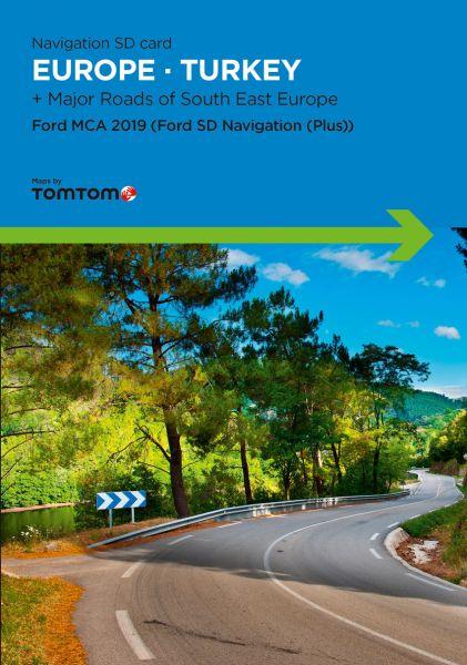 SD-Karte Europa WEU Ford MCA 2019 - TomTom - i1031171